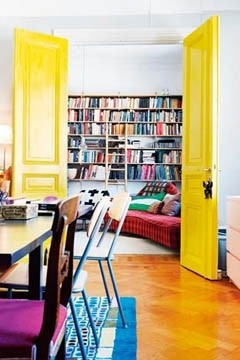 Yellow-interior-door-elle-norway-copy